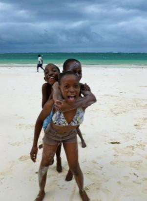 White girls in kenya
